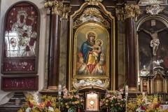 Dekoracje ołtarzy - święto Wniebowzięcia