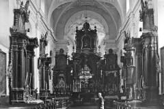 Klasztor w Pińczowie na starej fotografii