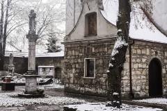 Sanktuarium Mirowskie - początek zimy