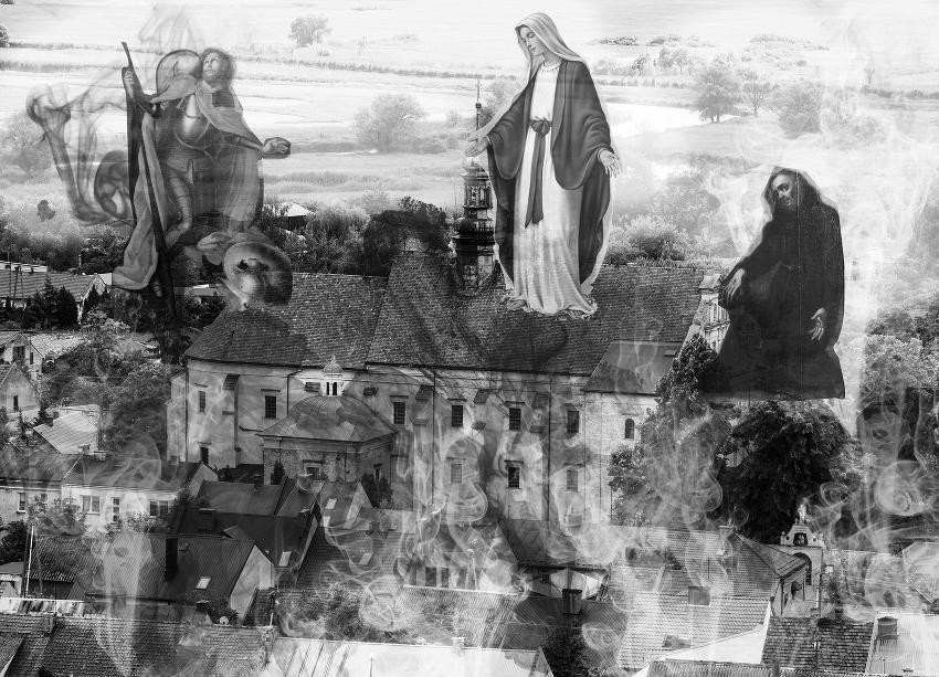 Wizualizacja cudu widzianego przez żyda Jakuba