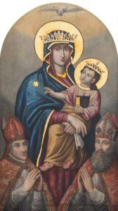 Matka Boża Mirowska ze świętymi Stanisławem i Wojciechem
