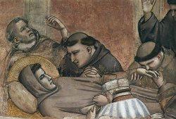 śmierć św. Franciszka