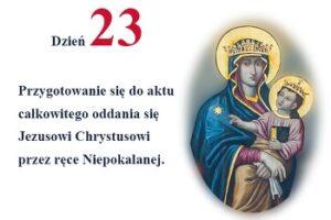 rekolekcje dzień 23