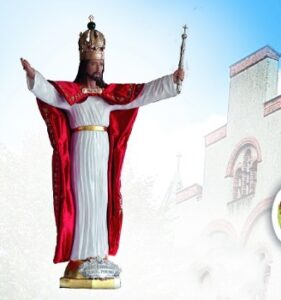 Figura Jezusa Chrystusa króla Polski